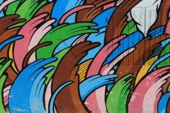 Дом граффити стоковое изображение rf