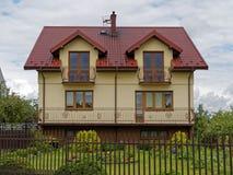 Дом далеко от города Стоковое Фото