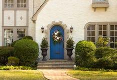 дом двери к Стоковое Фото