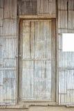 Дом двери weave расшивы бамбуковый Стоковые Изображения RF