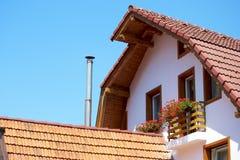 дом деревенская Стоковые Изображения