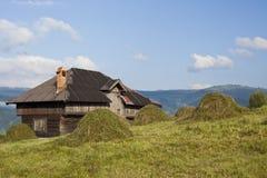дом деревенская Стоковые Фото