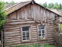 дом деревянная Стоковое Изображение RF