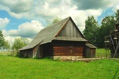 дом деревянная Стоковое Изображение