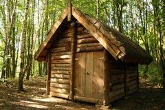 дом деревянная Стоковое фото RF