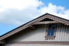 дом детали деревянная Стоковые Изображения