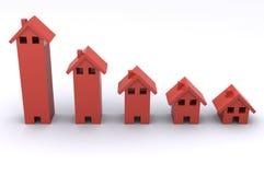 дом диаграммы Стоковое Изображение RF