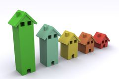 дом диаграммы Стоковые Фото