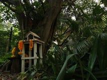 Дом духа, в Таиланде стоковые фотографии rf