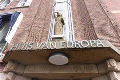 Дом Европы в вертепе Haag стоковая фотография