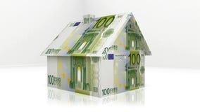 дом евро произведения искысства большая Стоковое Фото