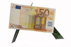 дом евро Стоковая Фотография