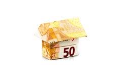 Дом евро Стоковое фото RF