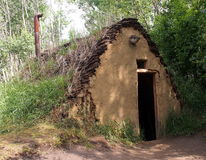 Дом дерна Стоковое фото RF