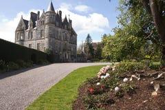 Дом лести на замке и землях лести стоковая фотография
