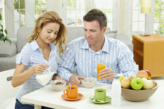 дом завтрака Стоковые Изображения RF
