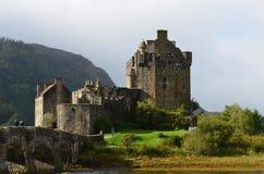 Дом замка Mackenzie Eilean Donan клана Стоковое Изображение RF