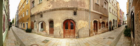 дом замока Стоковое фото RF