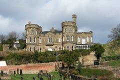 дом замока Стоковое Фото