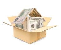 дом заработала деньги Стоковое Изображение RF