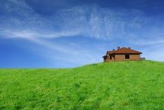 дом здания немногая Стоковое Изображение