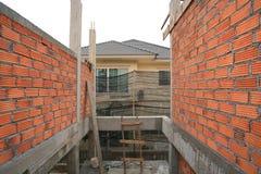 Дом здания и конструкции Стоковые Изображения RF