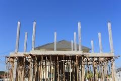 Дом здания и конструкции Стоковое фото RF