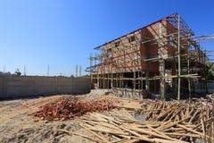 Дом здания и конструкции Стоковое Изображение RF