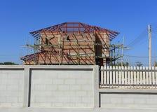 Дом здания и конструкции Стоковая Фотография