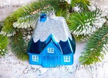 Дом игрушки - сновидение Новый Год собственной дома Стоковое Изображение