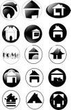 дом иконы Стоковая Фотография RF