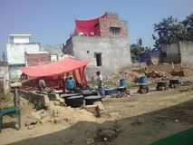 Дом Индии стоковое фото