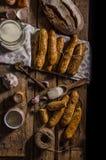 Дом-испеченные ручки хлеба Стоковое Изображение