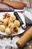 Дом-испеченный десерт муки Стоковые Изображения RF