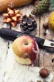 Дом-испеченный десерт муки Стоковые Фото
