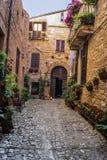 Дом исторического села стоковые изображения