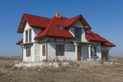 Дом и крыша Стоковые Фотографии RF
