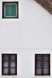 Дом и окна Стоковое фото RF