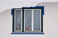 Дом и окна Стоковое Фото