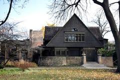 Дом и студия Wright Стоковое фото RF