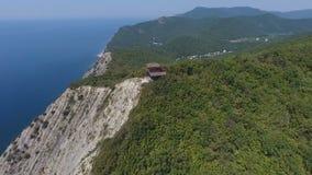 Дом йоги в горах, Чёрного моря, гор, Кавказа, Abrau-Dyurso акции видеоматериалы
