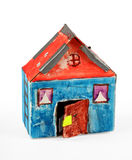 дом картона стоковое фото rf