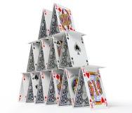 дом карточки Стоковые Изображения