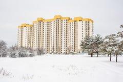 Дом квартиры в высотном доме Стоковое Фото
