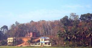 дом Керала фермы Стоковые Фотографии RF
