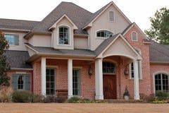 дом кирпича роскошная Стоковое Изображение RF