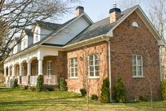 дом кирпича Стоковое Фото