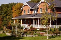 дом классики кирпича Стоковая Фотография RF
