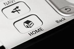 дом кнопки Стоковое фото RF