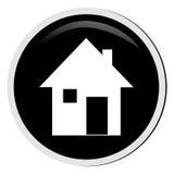 дом кнопки Стоковые Изображения RF